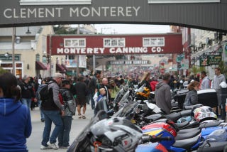 Illustration for article titled MotoGP Night on Cannery Row