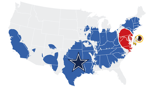 Illustration for article titled Still America's Team: An Analysis Of Twitter Behavior Before Cowboys-Redskins