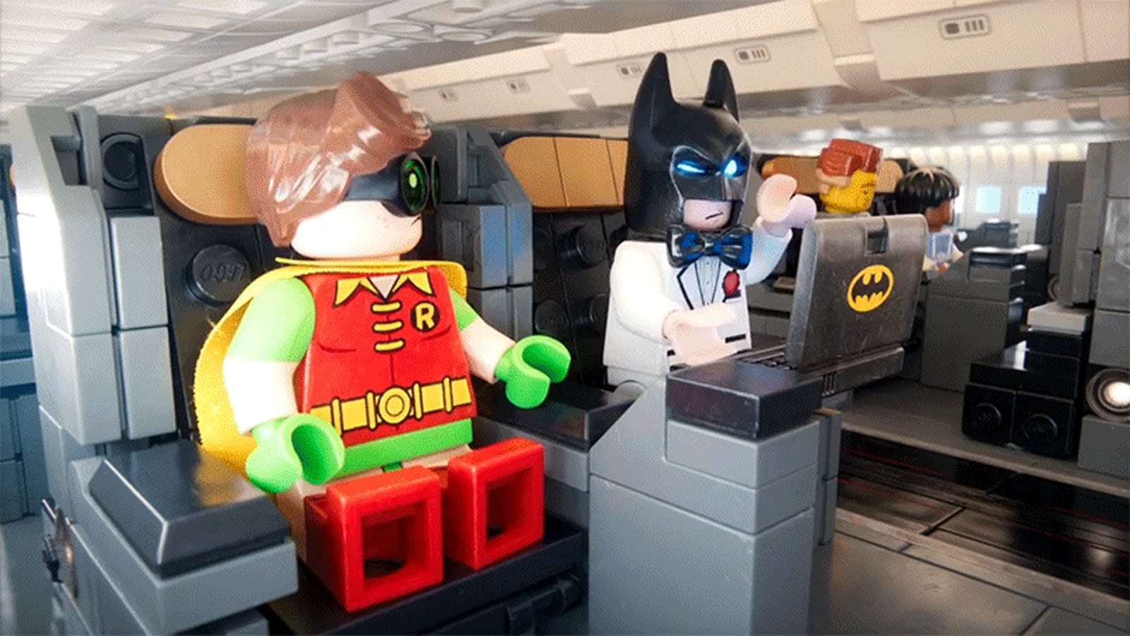 Lego Batman, Superman, and Emmet Star in the Best Airplane Safety Video You've Ever Seen