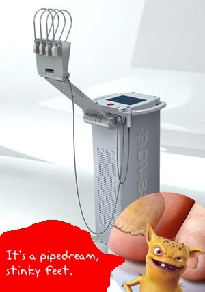 Illustration for article titled Noveon Zaps Toe Fungus With Light, But Annoying Lamisil Commercials Remain