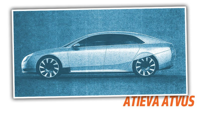 Illustration for article titled We Now Know What The Tesla-Fighting Atieva Atvus Looks Like Thanks To A Leak