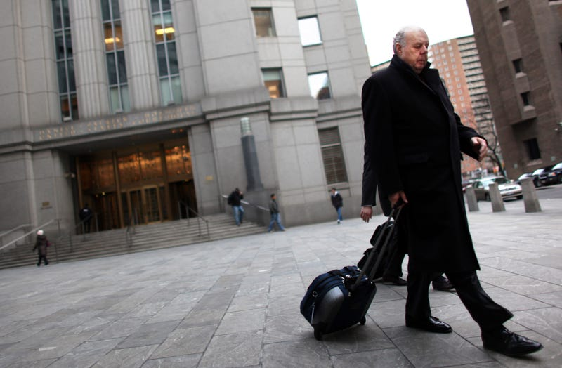 John Dowd exiting the Daniel Patrick Moynihan U.S. Courthouse in New York City on March 8, 2011