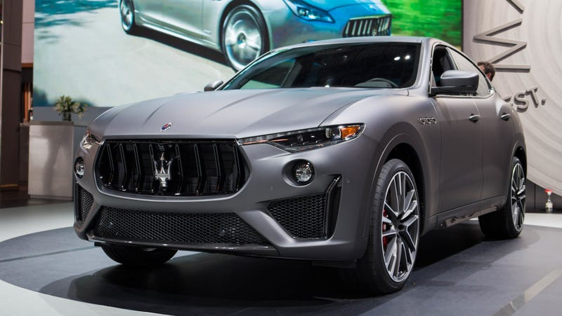 Illustration for article titled What Do You Want to Know About the 2019 Maserati Levante Trofeo?