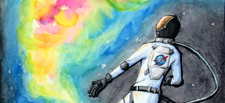 Illustration for article titled NASA's Art Contest For Kids Yields Results Impressive and Adorable