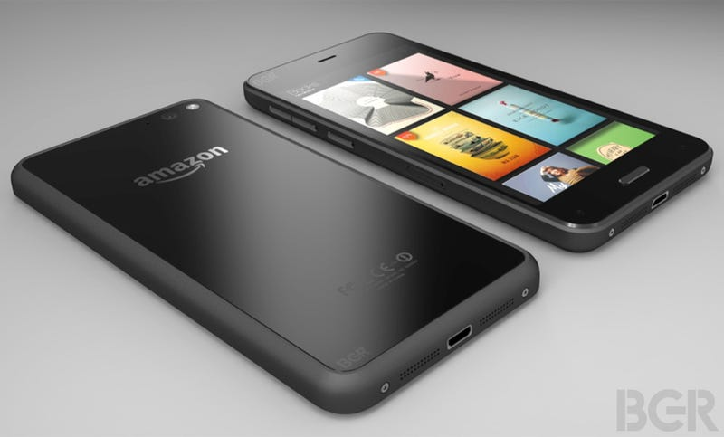 Illustration for article titled Report: This Is What Amazon's Phone Will Look Like