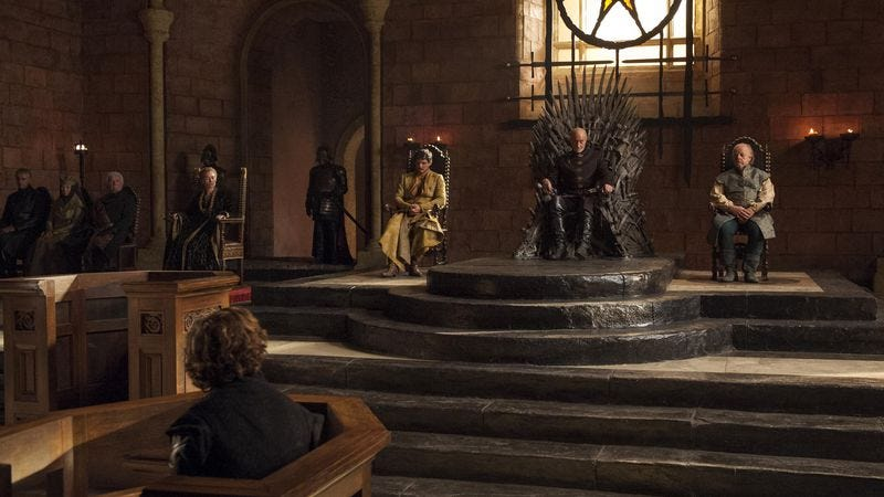 The cast of Game Of Thrones (HBO)