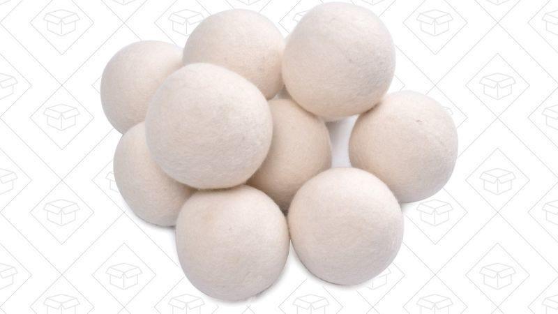10 Bolas para la secadora, $12 con código QQQAAA11