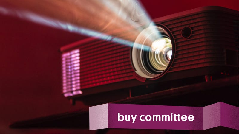 Illustration for article titled Buy Committee: Should My Boss Buy a Projector?
