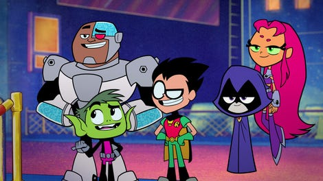 Superhero dimensions collide in a funny, gorgeously