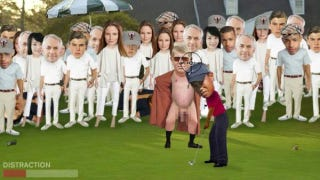 Illustration for article titled Here's an Unlicensed Game Featuring Tiger Woods at The Masters