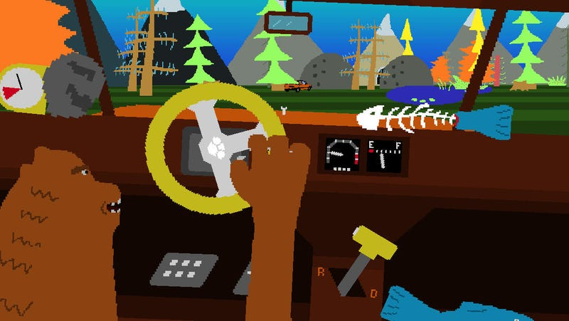 Illustration for article titled Is That Bear Driving A Car?
