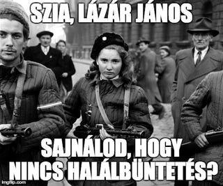 Illustration for article titled Lázár János sajnálja, hogy nincs halálbüntetés