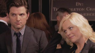 Illustration for article titled Amy Poehler Reveals Some Freaky Shit About Your Boyfriend Adam Scott