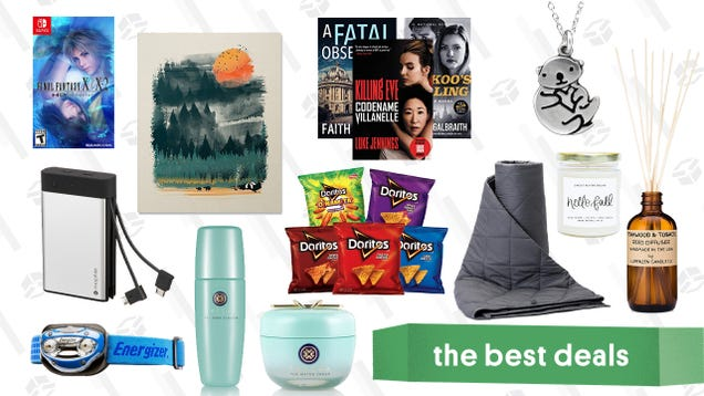 Sunday s Best Deals: mophie Power Bank, Tatcha Sale, Weighted Blankets, and More