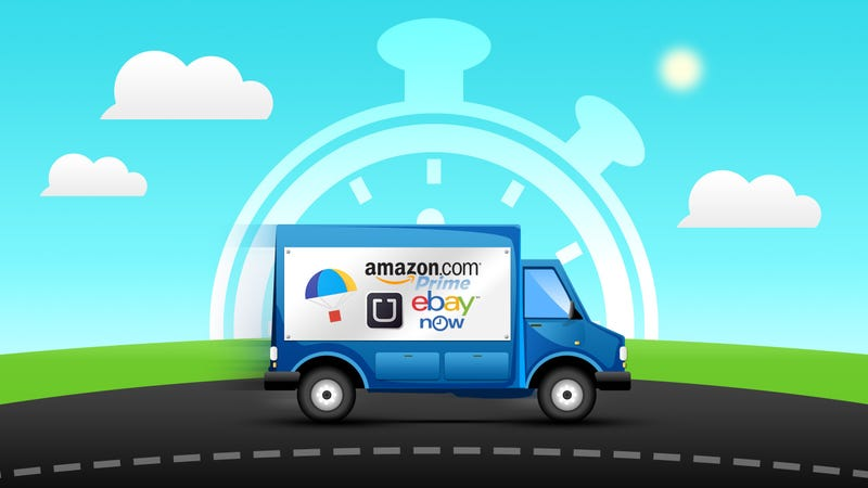 Illustration for article titled The Services That Offer Same Day Delivery on Your Orders