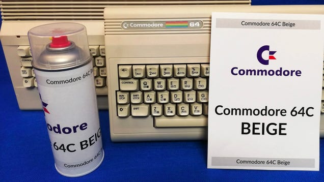 Give Your Home a Drab  80s Makeover With Commodore 64 Colored Spray Paint
