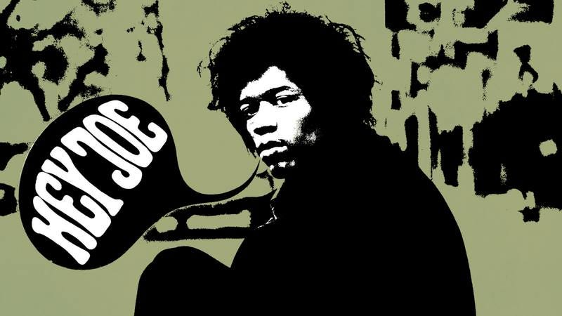 """Illustration for article titled """"Hey Joe"""" didn't start or end with Jimi Hendrix"""