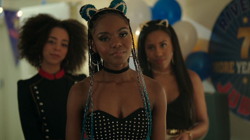 Josie and the Pussycats on Riverdale.