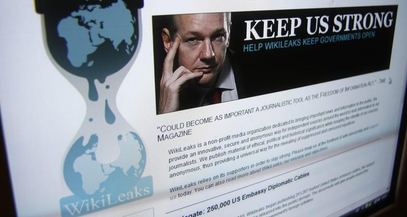 Illustration for article titled WikiLeaks vuelve a aceptar secretos y documentos filtrados