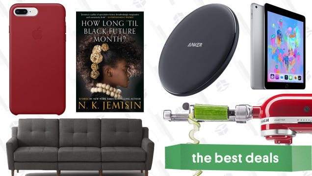 Saturday s Best Deals: Flash Storage, iPads, Apple Watches, Burrow Couches, and More