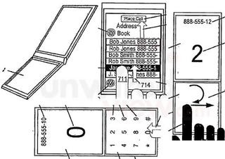 Illustration for article titled Apple iPhone 2.0 Patent Shows Dual-Touchscreen Flipphone