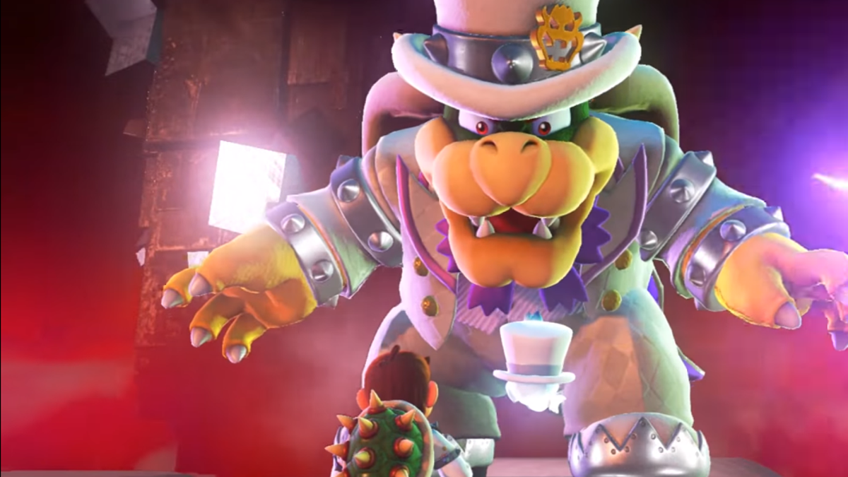 bowser will comment on your outfit in super mario odyssey
