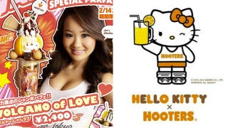 Illustration for article titled Hello Kitty and...Hooters?