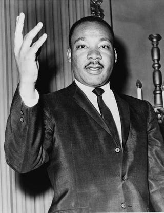 The Rev. Martin Luther King Jr. in 1964World Telegram & Sun by Dick DeMarsico/Wikimedia Commons