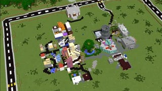 Illustration for article titled It's SimCity in Minecraft. Literally.