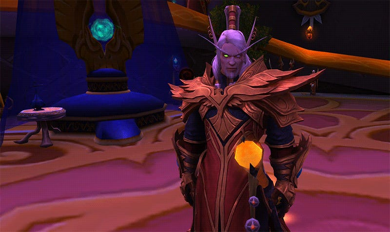 World Of Warcraft's Blood Elf Daddy Got A Makeover
