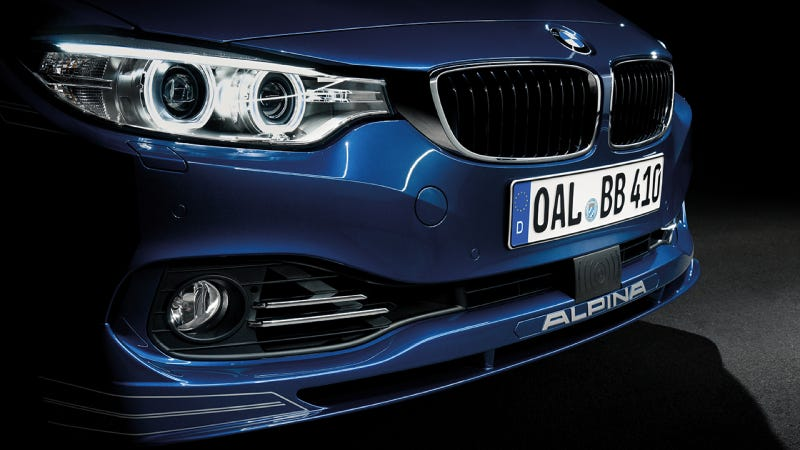 Illustration for article titled The New BMW Alpina B4 Biturbo