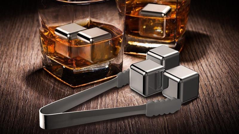 TaoTronics Whiskey Stones Reusable Chilling Stones | $10 | Amazon | Use code KINJAW2E