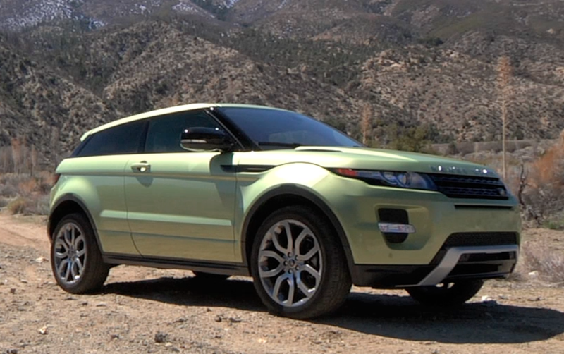 Illustration for article titled Video - Range Rover Evoque: On and Off-Road Test