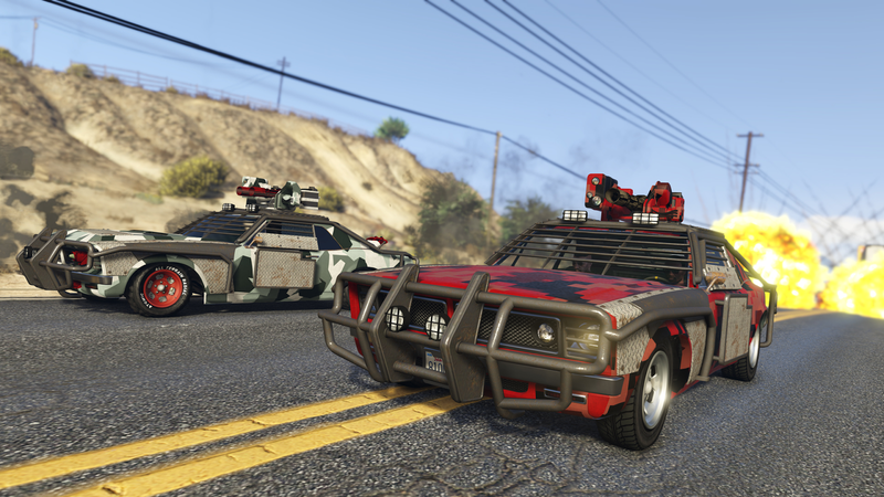 Illustration for article titled GTA Online's Take On Battlegrounds Is Way More Chaotic