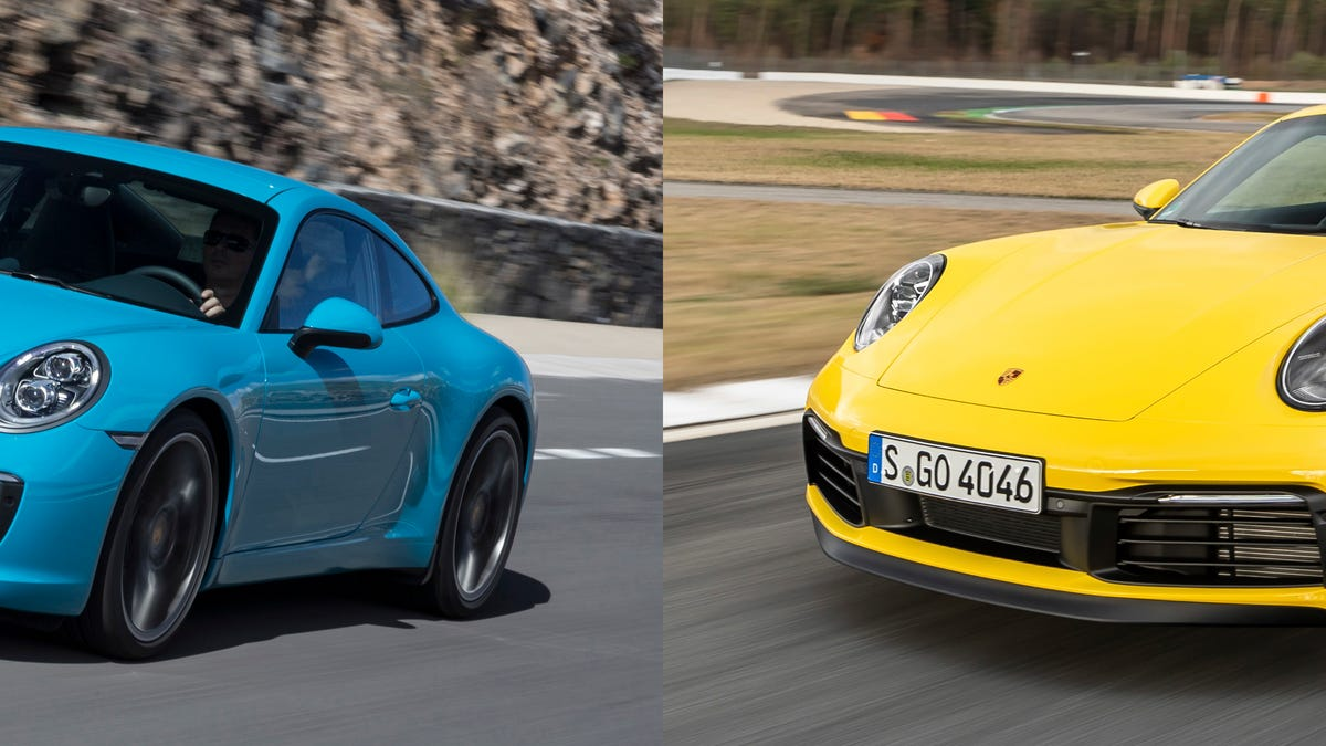 Here's How to Tell the New Porsche 911 From the Old One