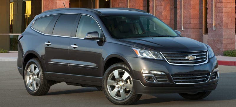 Illustration for article titled GM Halts Sale Of Crossovers Because Fuel Economy Labels Were Wrong