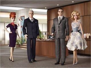Illustration for article titled Contest: Win A Complete Set Of Mad Men Barbie Dolls!