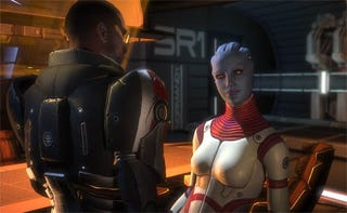 Illustration for article titled Muzyka: Mass Effect Sex Scene Validates Games As Art