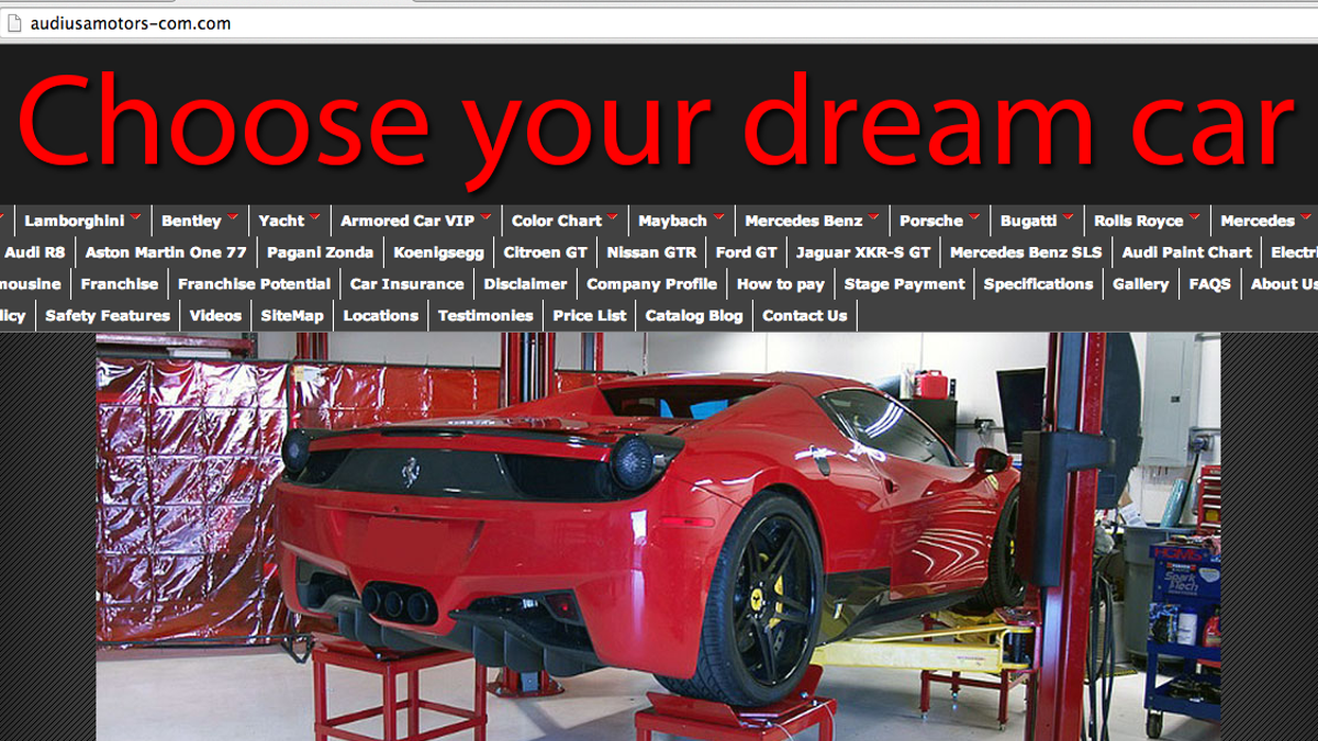 The World S Shadiest Supercar Company Is Still Trying To Rip You Off