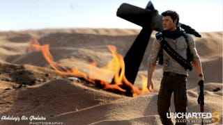 Illustration for article titled It's Like Uncharted, But Smaller and with Real Fire