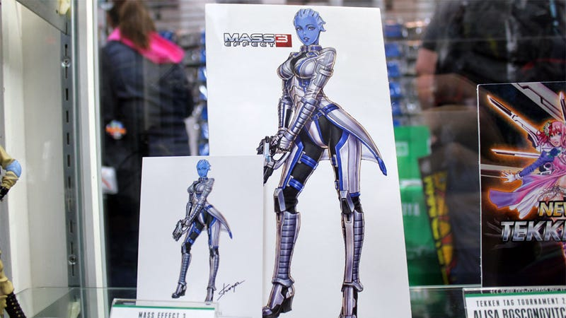 Illustration for article titled Toy Maker Kotobukiya Getting Into the Business of Sexy Mass Effect Girls