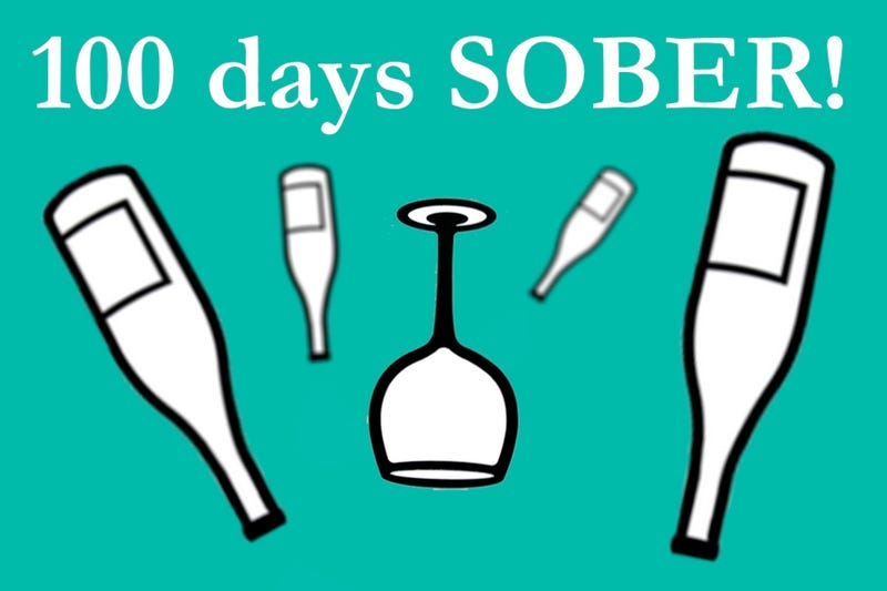 Illustration for article titled I am 100 days Sober!  Ask a recovering sober person!