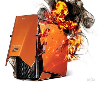 Illustration for article titled Acer Predator Desktop Gaming Units Recalled For Minor House Burning Issue