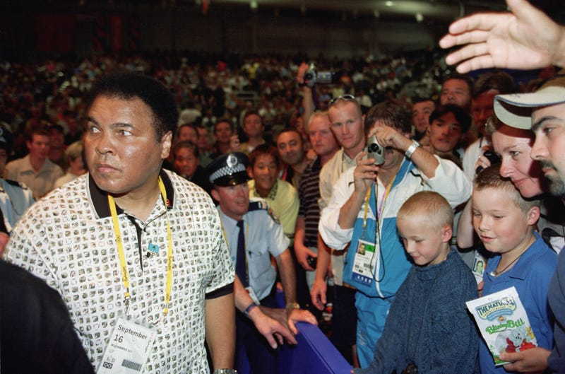 Muhammad Ali at the Sydney Olympic Games in Australia on Sept. 16, 2000Mike Hewitt/Getty Images