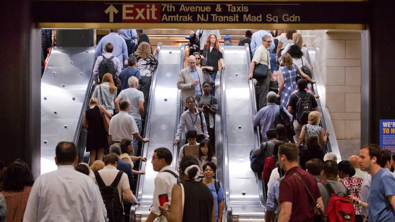 Day one of Penn Station repairs: crowds, delays but no major problems