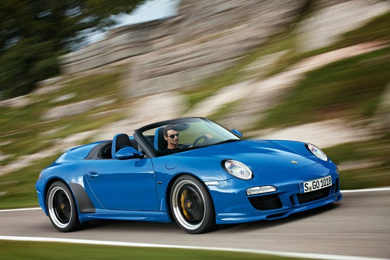 Illustration for article titled 2015 Porsche 911 Speedster Planned
