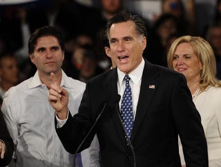 Illustration for article titled Mitt Romney Wins New Hampshire Primary