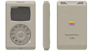 Illustration for article titled Here's What the iPhone Would Have Looked Like in 1985