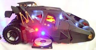 Illustration for article titled Famous Batmobile Tumbler Case Mod on eBay