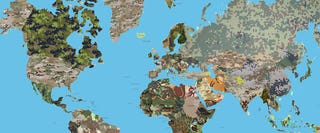 Illustration for article titled Map shows what each country's military camouflage pattern looks like